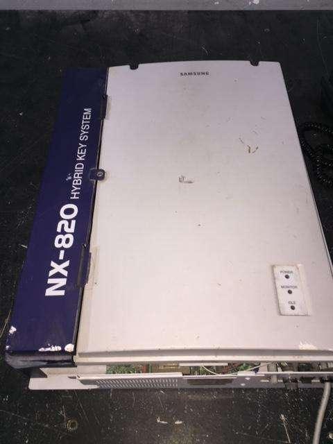 Central Telefonica Samsung nx 820 con 7 Telefonos
