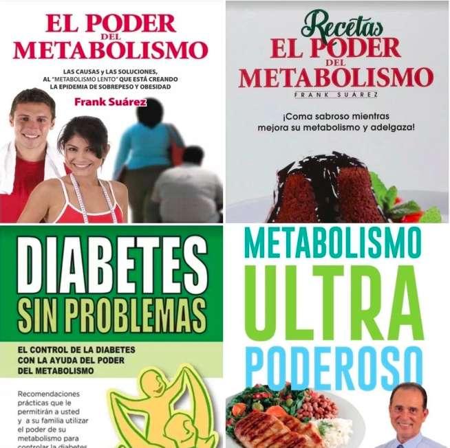 Libros El Poder Del Metabolismo Frank Suárez Envío Inmedia