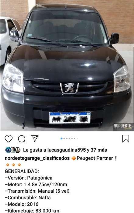 Peugeot Partner 2016 - 80000 km