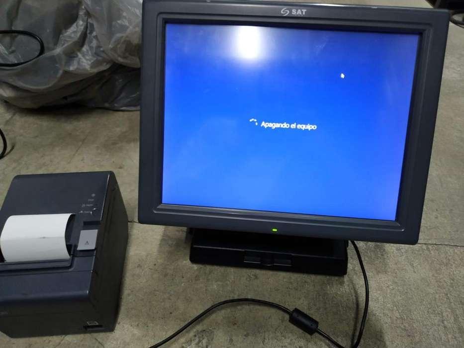 Oferta Equipo Pos Integrado Todo En Uno Sat Impresora Epson TM-T20 II