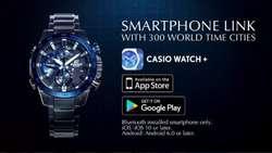 Reloj Casio Edifice Eqb-800db-1a Race Lap Bluetooth F1 Toro Rosso