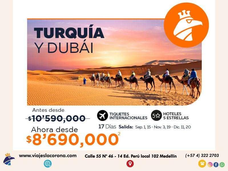 Viaje como un Rey a Turquía y Dubái con Viajes la Corona