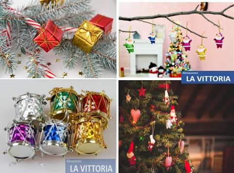 Adornos para Árbol de Navidad Varios Colores