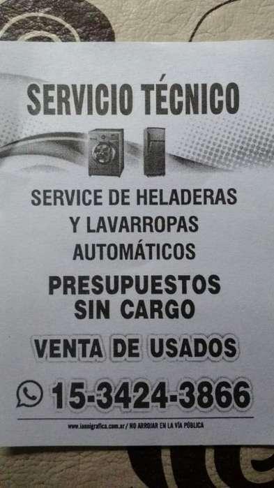 Heladeras Y Lavarropas Service