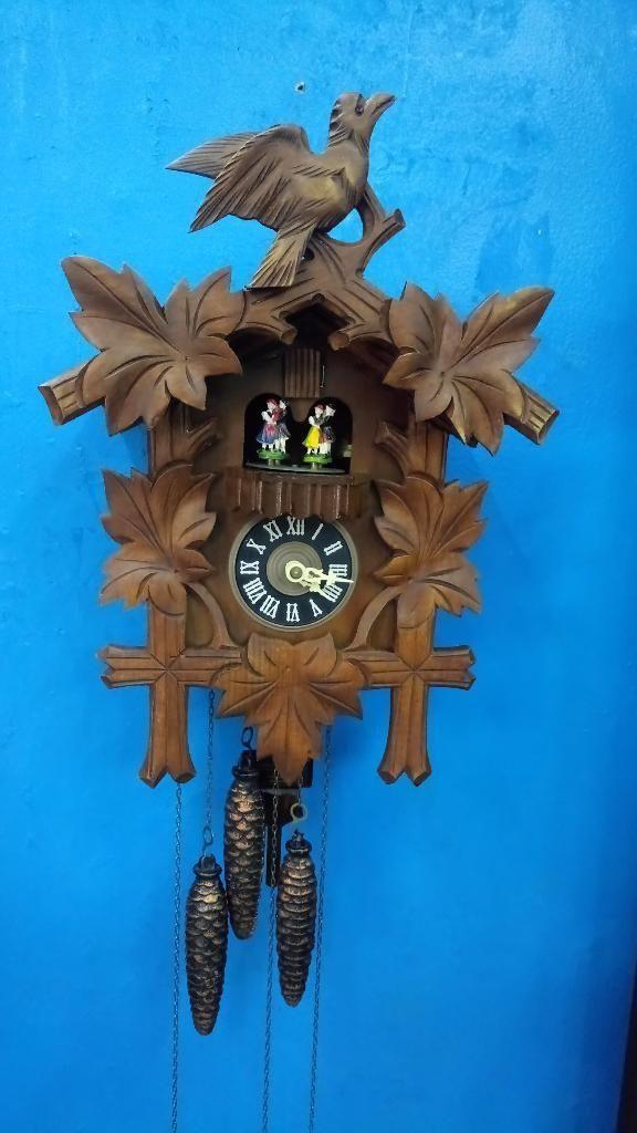 Reloj Cucu Aleman Antiguo 1940 Original