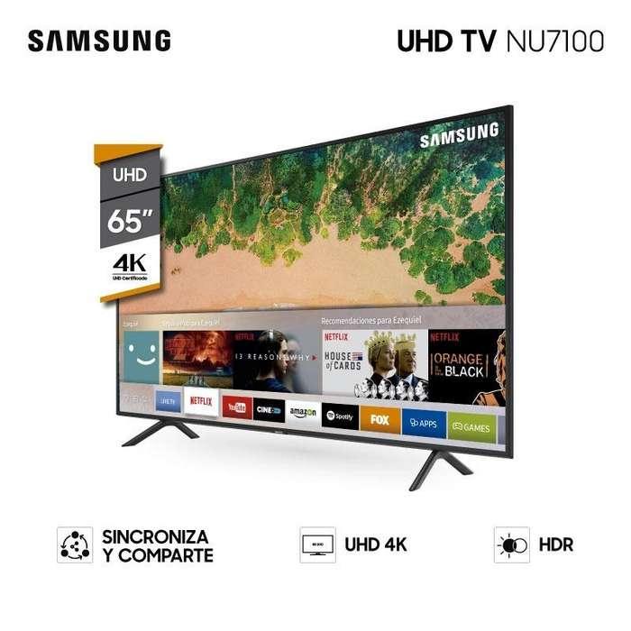 Tv Samsung 4k Uhd 65 Pulgadas Smart 65nu