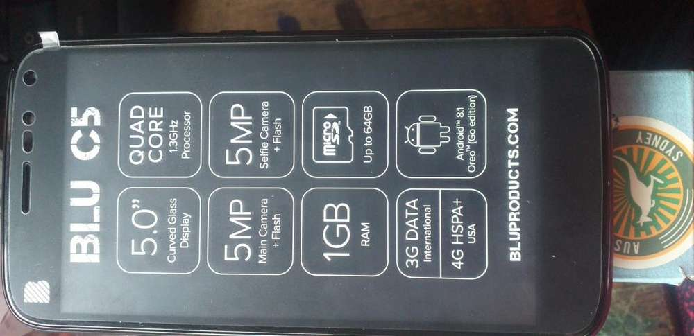 Celular blu c5 nuevo de paquete