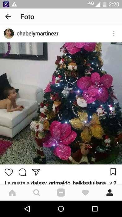 Vendo Arbol Navideño con Toda Su Decorac