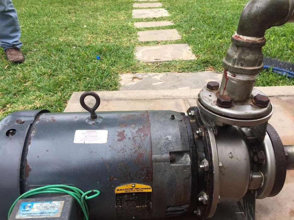 Motor de Agua Industrial de 10 Hp