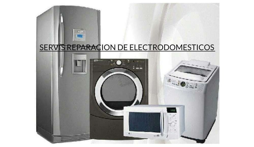 Service Lavarropas,heladeras,microondas