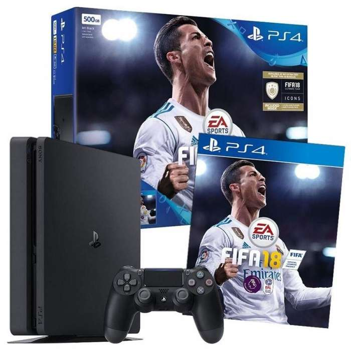 PLAYSTATION 4 DE 1 TB CON FIFA