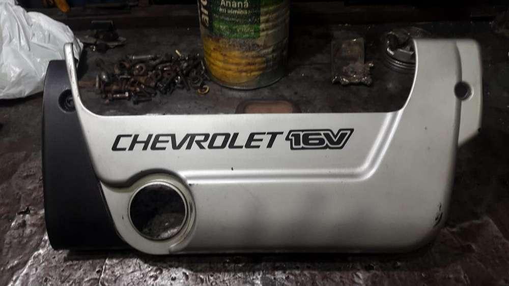 Tapa cubre motor corsa o meriva 16 valvulas