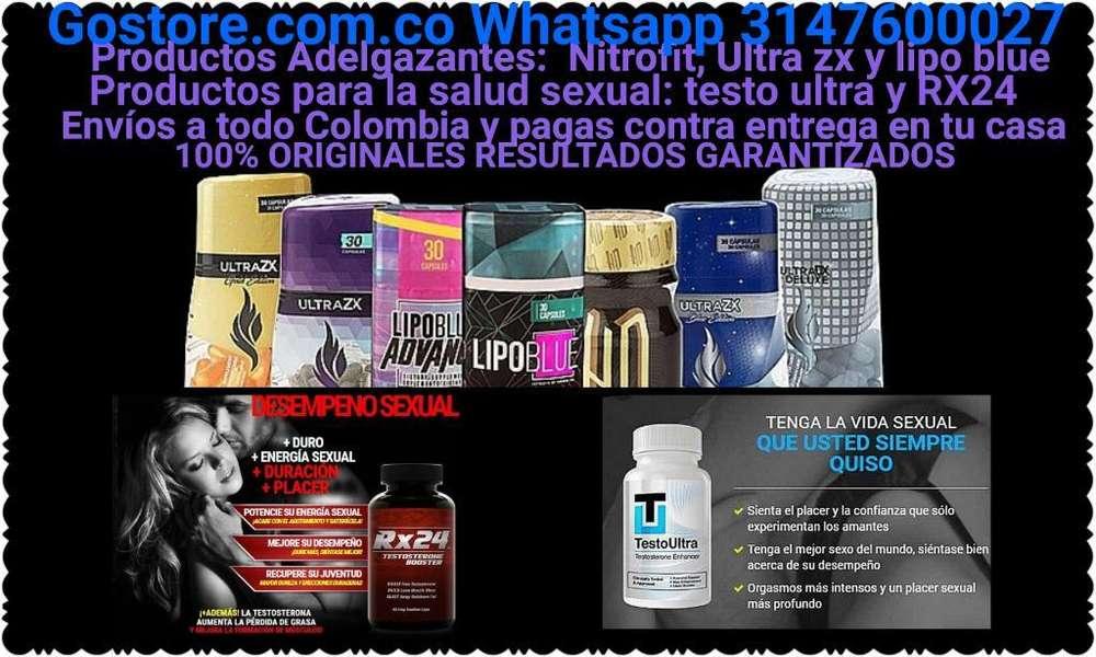 Productos Adelgazantes:nitrofit,ultrazx