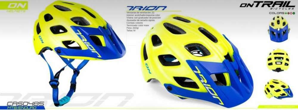 casco MTB/ENDURO on TRAIL Trion