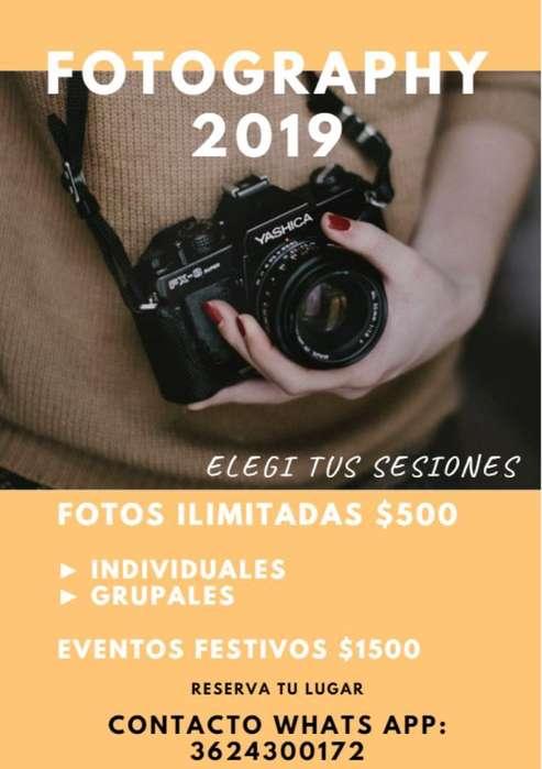 Servicio de Fotografías