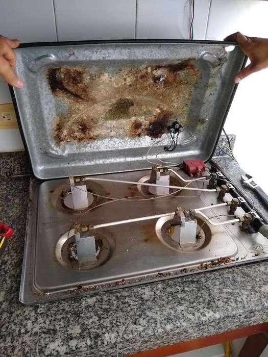instalacion y reparacion de todo tipo de estufas