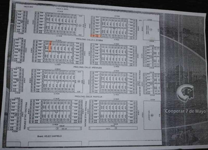 Venta de terrenos en Barrio Cooperar, Empalme Villa Constitución. permutaria por auto o pick up
