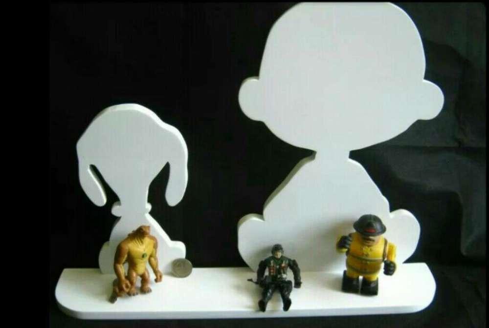 Repisa Snoopy en Mdf