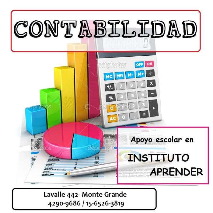 Apoyo escolar de contabilidad en Monte Grande