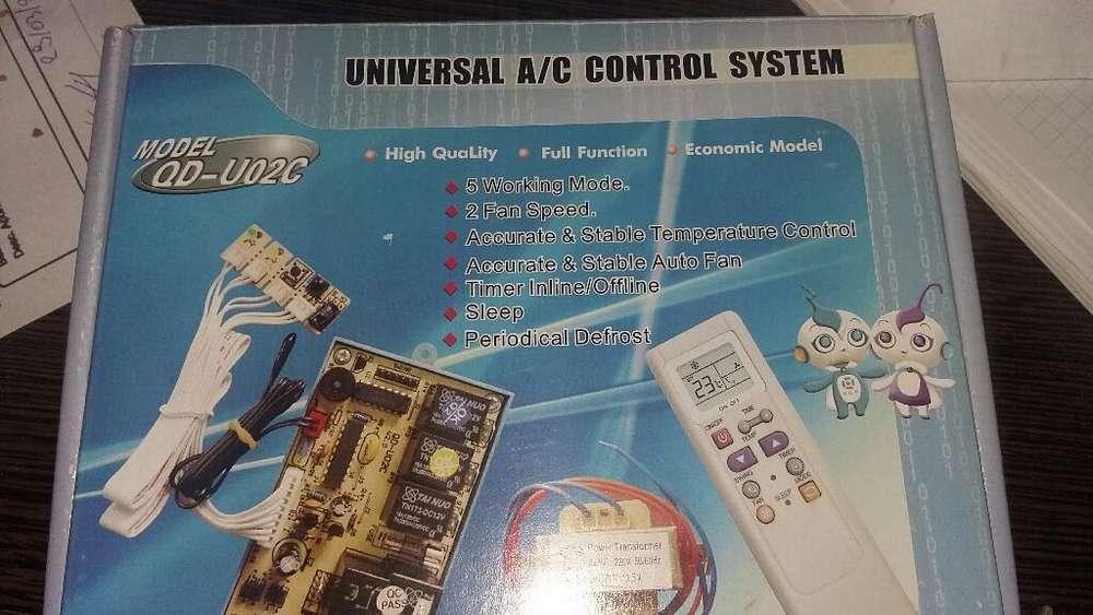 sistema de control de aire acondicionado universal