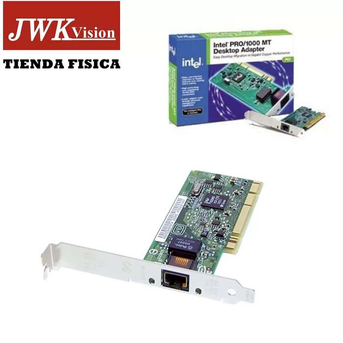 Adaptador De Ethernet Pci Intel Pro/1000 Mt Desktop Jwk