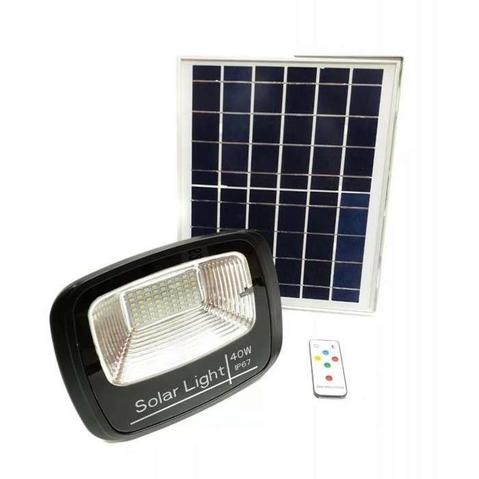 Reflector Led Con Panel Solar 40w PAGO CONTRA ENTREGA
