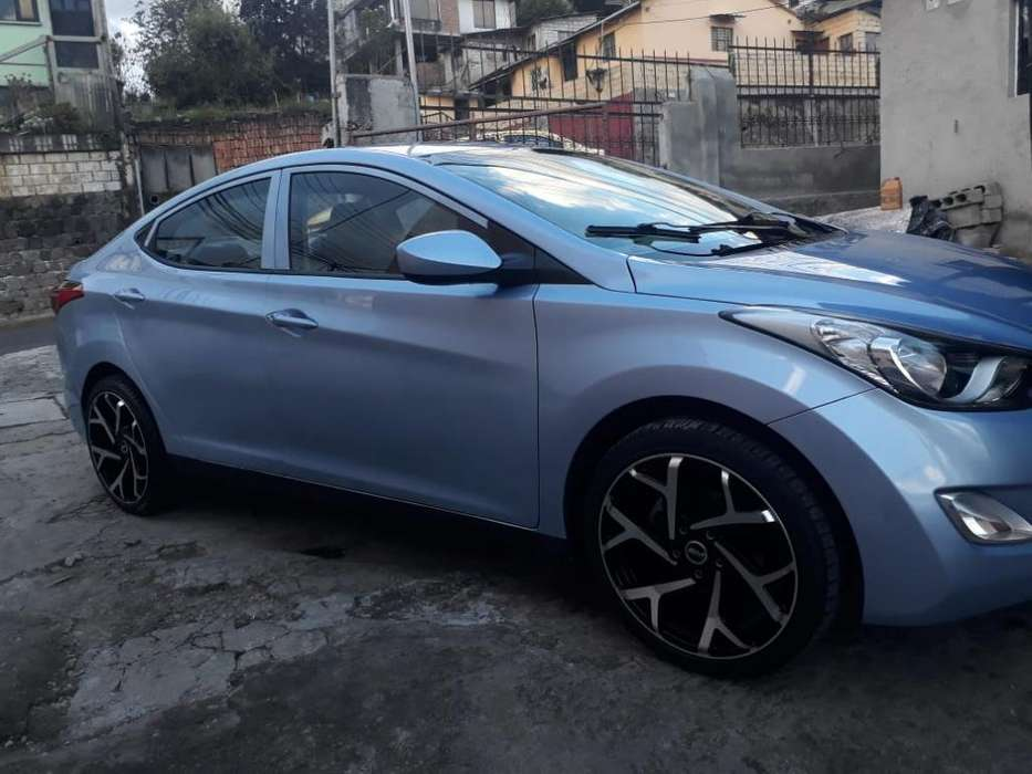 Hyundai Elantra 2013 - 80179 km