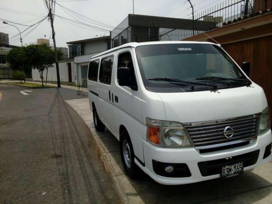 Nissan Urvan 2008 - 93000 km