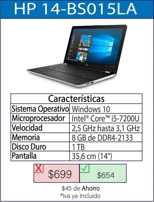 Laptop HP-BS015LA