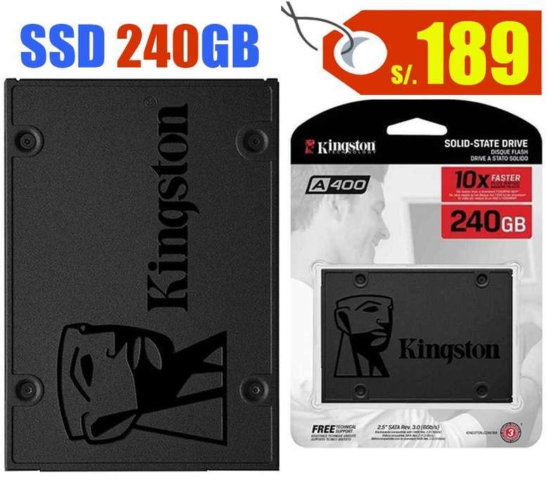 Discos duros y memorias DDR4 para PCs y Laptops, Nuevos!