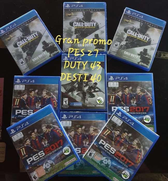 Gran Promoción Video Juegos Sellados.