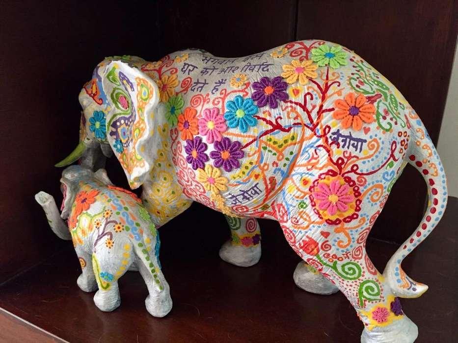 Elefante Indu Importado de la India