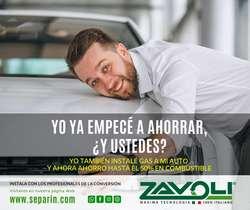 ZAVOLI Conversión a Gas GLP / GNV