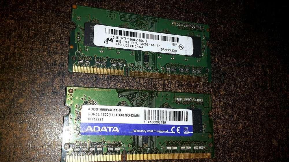 Memoria Ram Ddr3 8gb Pc3l Bus 12800