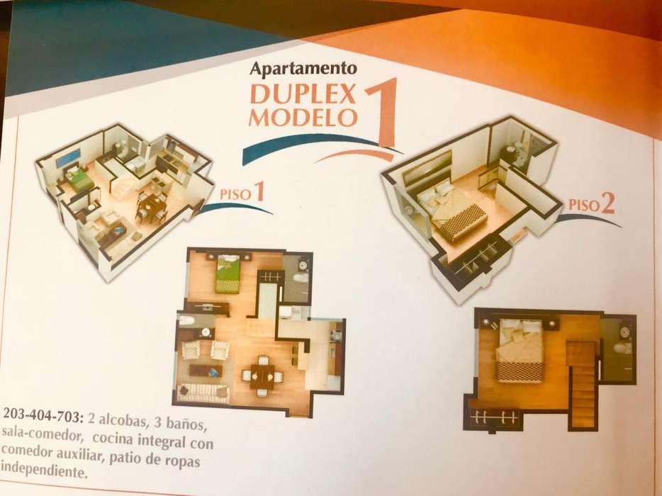 Arriendo Excelente <strong>apartamento</strong> duplex, muy acogedor, bien ubicado. B. Mesopotamia.