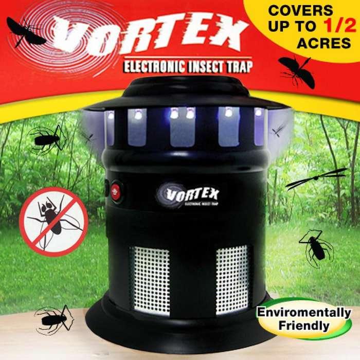 Lampara Mata Insectos Zancudos Mosquitos Moscos