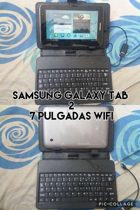 samsung galaxy tab 2 7.0 solo wifi con teclado venta cambio