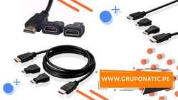 Cable Hdmi 1.5 Metros Micro Mini Hdmi 3d 4k Gruponatic San Miguel Surquillo Independencia La Molina 941439370