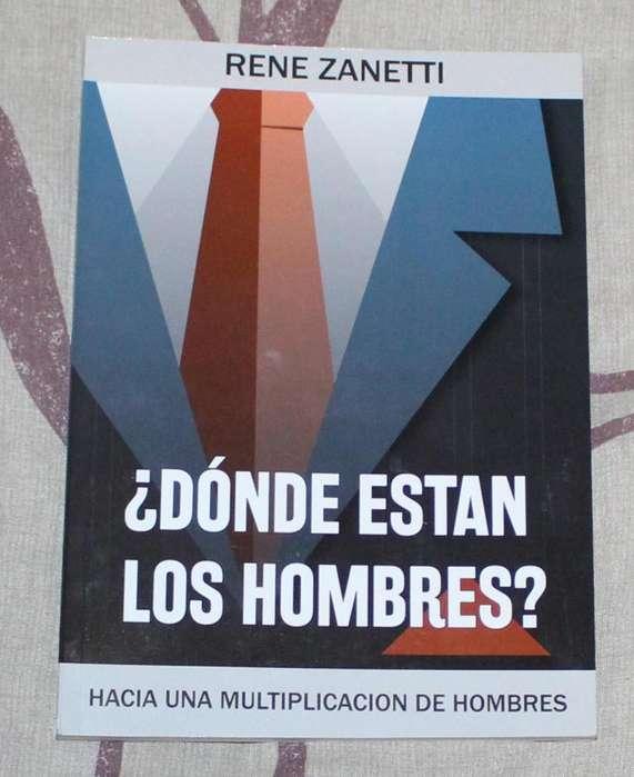Libro ¿Dónde están los hombres? René Zanetti