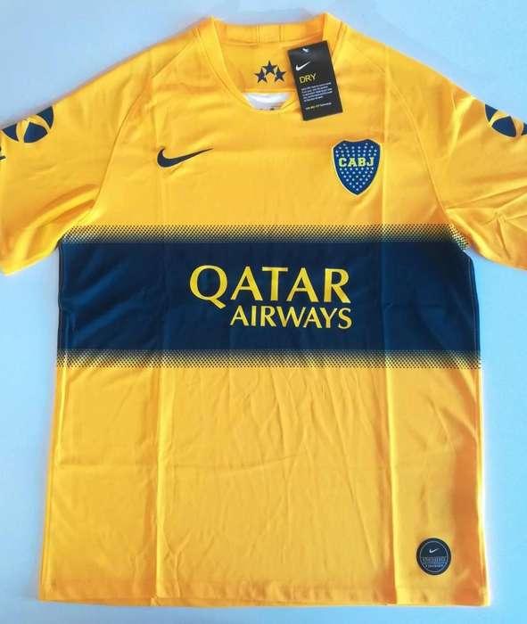 Camiseta Nike Boca Juniors 2019/2020 - Suplente