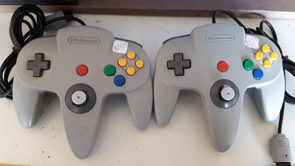Controles Nintendo64