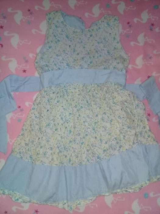 Precioso Vestido Niñas 2 Y 3 Años