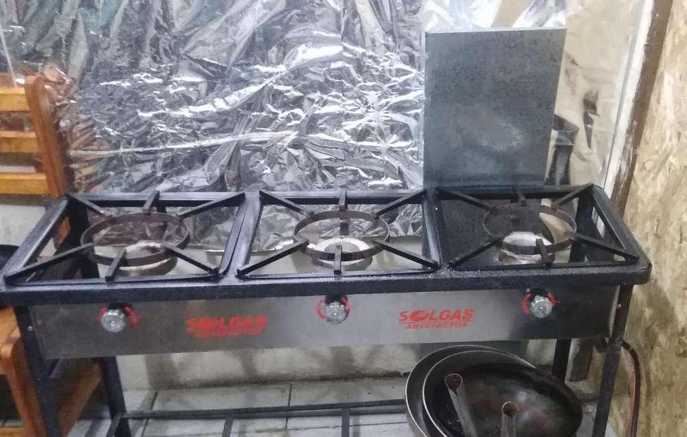 Vendo Cocina Industrial, Congeladora