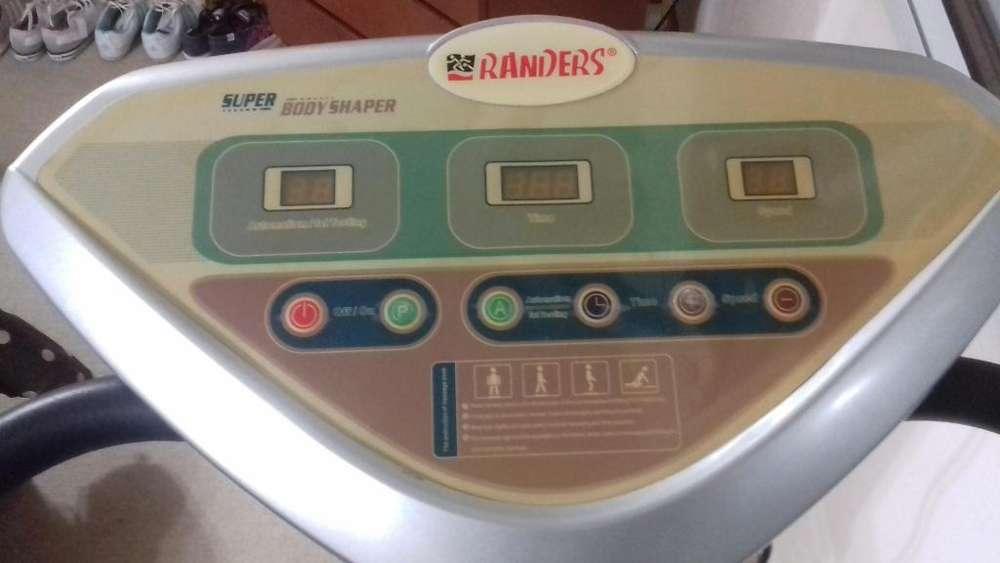 plataforma vibratoria RANDERS Body Shaper