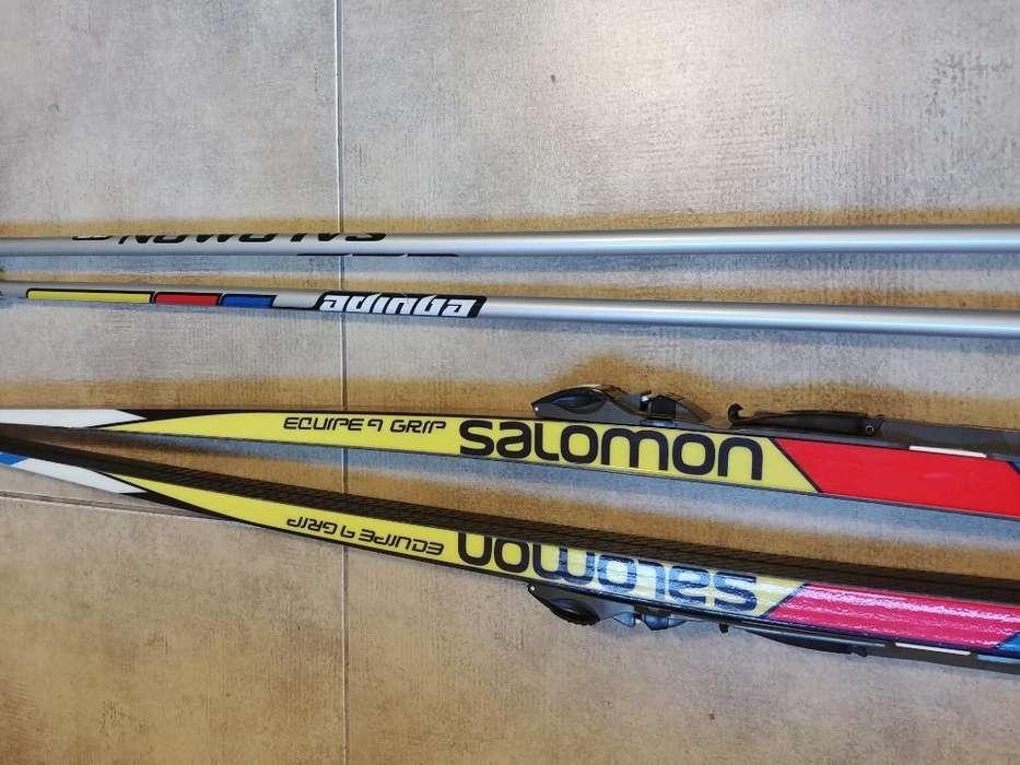 Tablas de Esqui Nordico Ambos Equipos