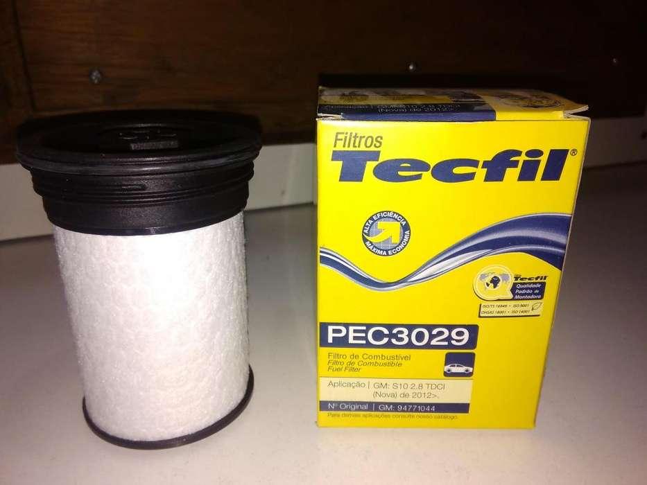Filtro De Gasoil Tecfil Pec3029 Para Chevrolet S10 2.8
