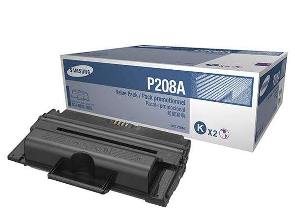 Toner Samsung Mlt-p208a/xaa Twin Pack P/scx-5