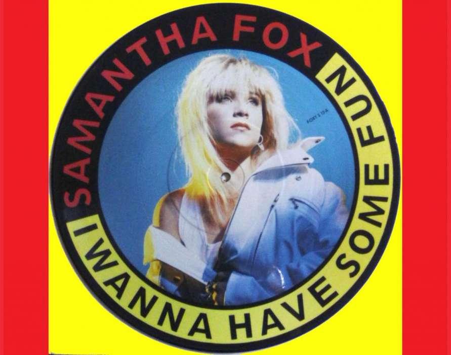 * I WANNA HAVE SOME FUN Samantha Fox acetato vinilo singles para tornamesas DJ tocadiscos Deejays Entrega a domicilio