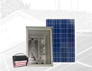 PLANTA ENERGÍA SOLAR 100Wp PS100-12P100-800M