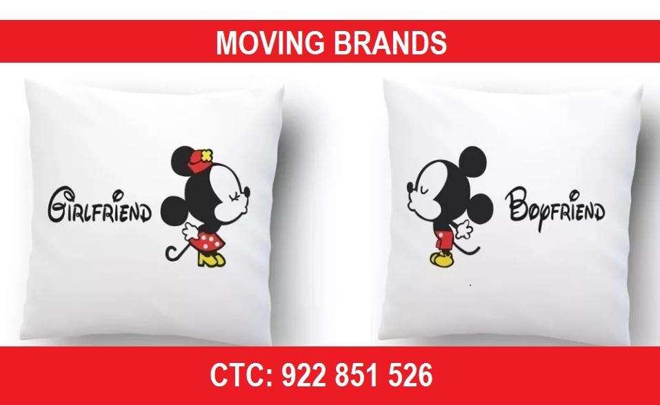 Almohadas personalizadas en Lima